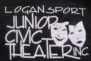 Logansport Junior Civic Theater Logo